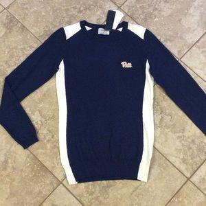 NEW University of Pittsburgh sweater women size XS